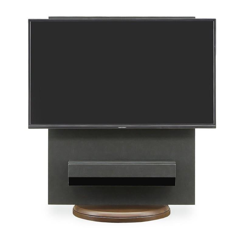 【ネット限定】壁掛けテレビスタンド スラスト BK:《自立型の壁掛けテレビスタンドです》