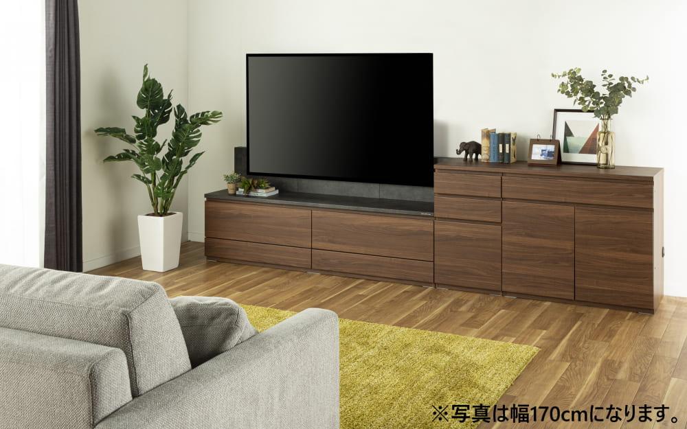 :一体感のあるTVボード