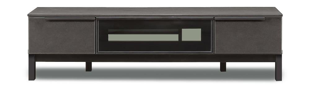 【ネット限定】テレビボード サザビー150 TVB−L:流行のセラミック色のリビングボード。