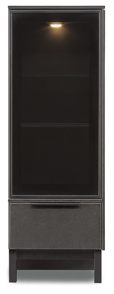 【ネット限定】キュリオ サザビー45 キュリオ−R:流行のセラミック色のリビングボード。