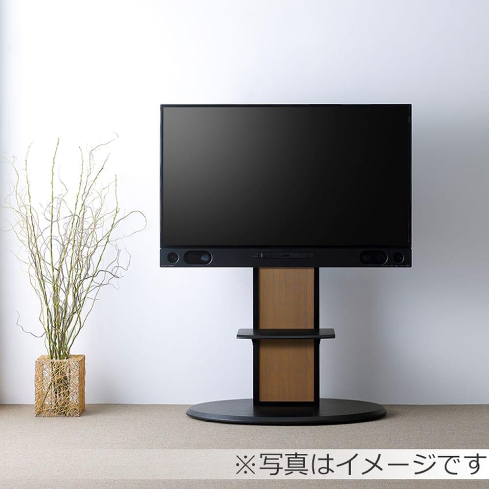 棚付きテレビスタンド AS−SF900 ブラック:壁寄せスタンド AS-SF900