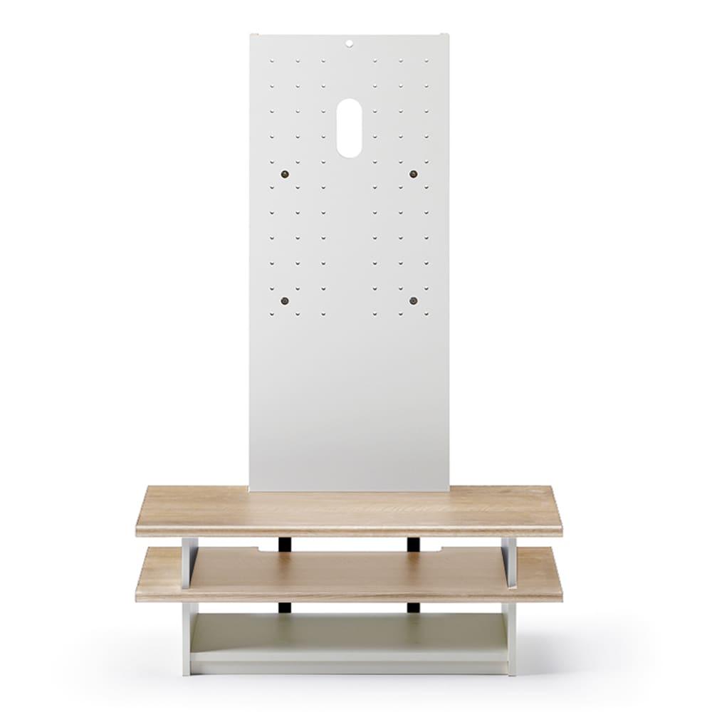 【ネット限定】壁よせテレビラック AS−WSH800−NA ナチュラル:壁寄せスタンド AS-WSH800