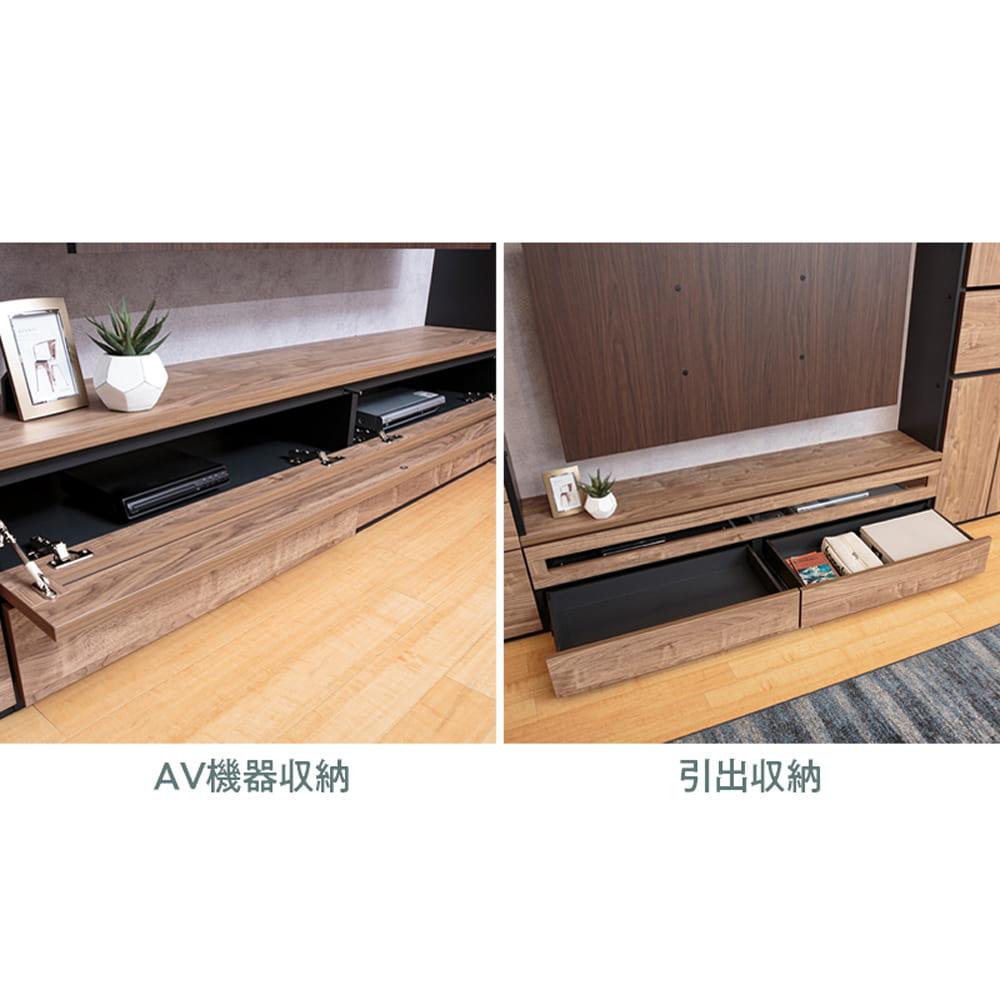 :TV下収納スペース