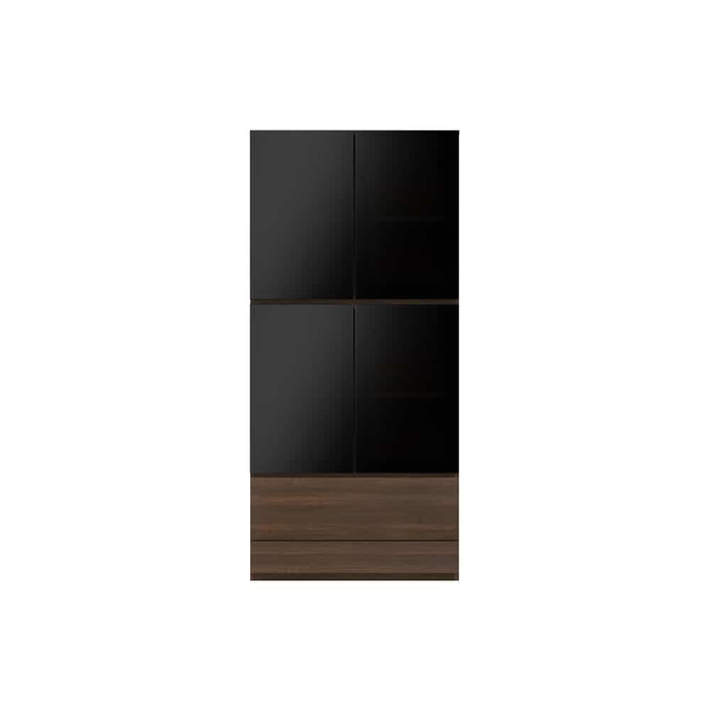 ガラス扉キャビネットPJC−G800 N:ベーシックな組み合わせは勿論、よりパーソナルな組み合わせに対応します