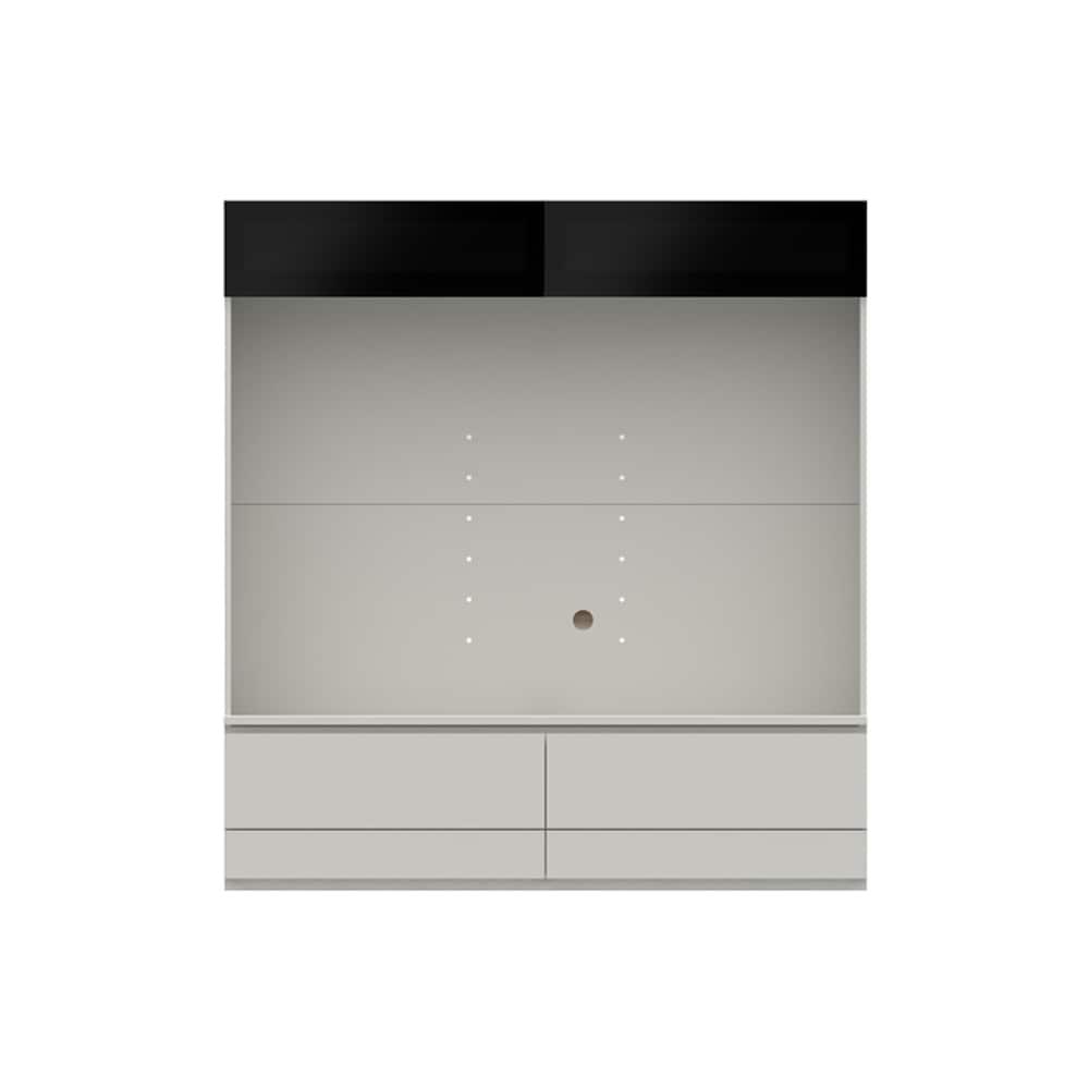 壁面TVボード【上部ガラス扉】PJC−G1600 W:ベーシックな組み合わせは勿論、よりパーソナルな組み合わせに対応します