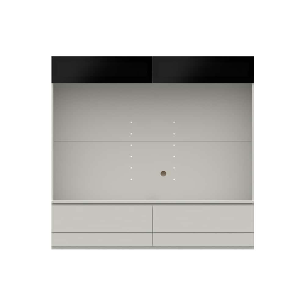 壁面TVボード【上部ガラス扉】PJC−G1800 W:ベーシックな組み合わせは勿論、よりパーソナルな組み合わせに対応します
