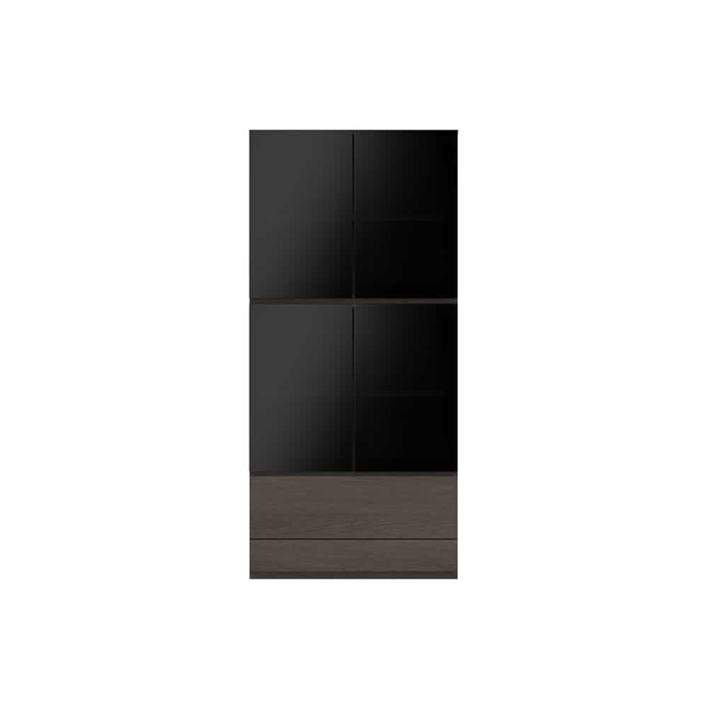 ガラス扉キャビネットPJC−G800 VE:ベーシックな組み合わせは勿論、よりパーソナルな組み合わせに対応します