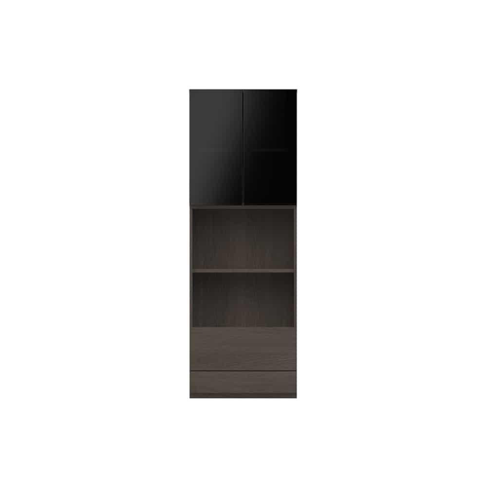 オープン ガラス扉キャビネットPJC−G601 VE:ベーシックな組み合わせは勿論、よりパーソナルな組み合わせに対応します
