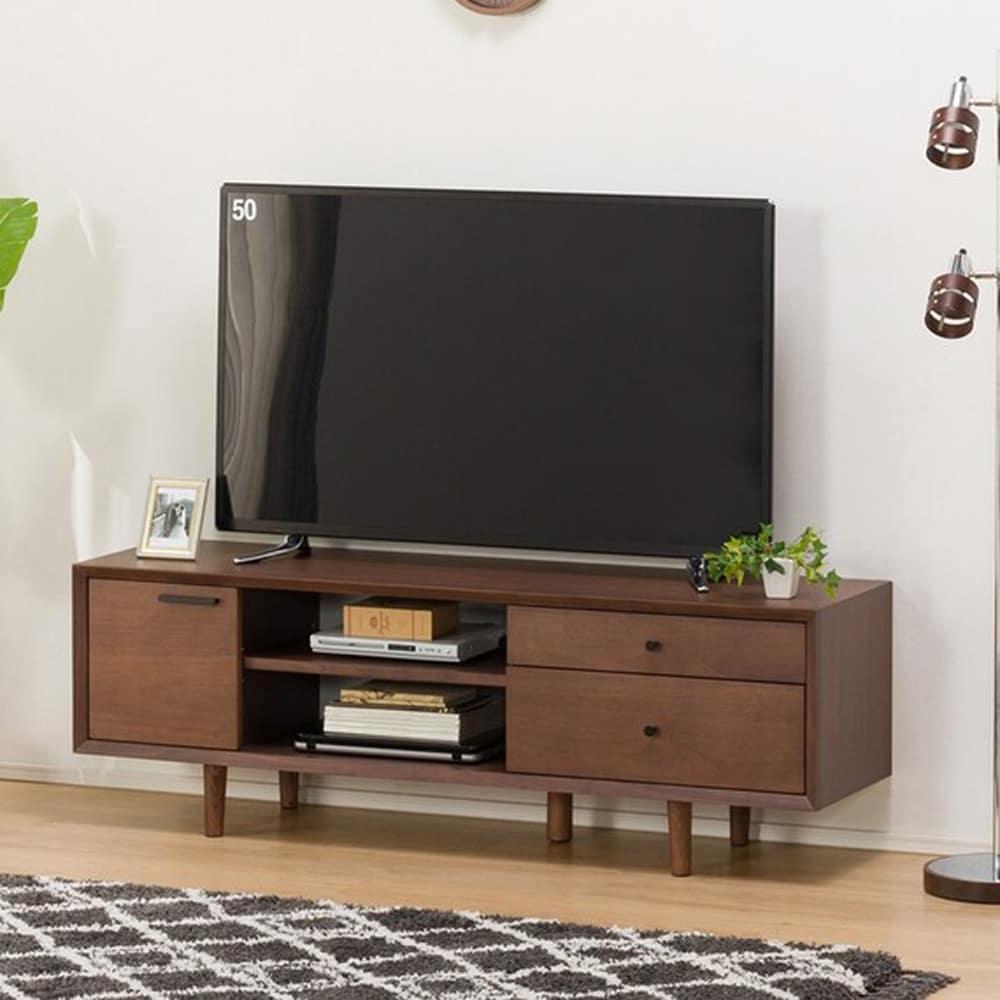 【ニトリ】 ローボード フィルン2 1500 ミドルブラウン:豊かな木質感。素材にこだわった【フィルン】シリーズ