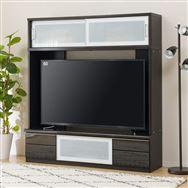 【ニトリ】 TVボード ポスティアN 160 BK セット ホワイト