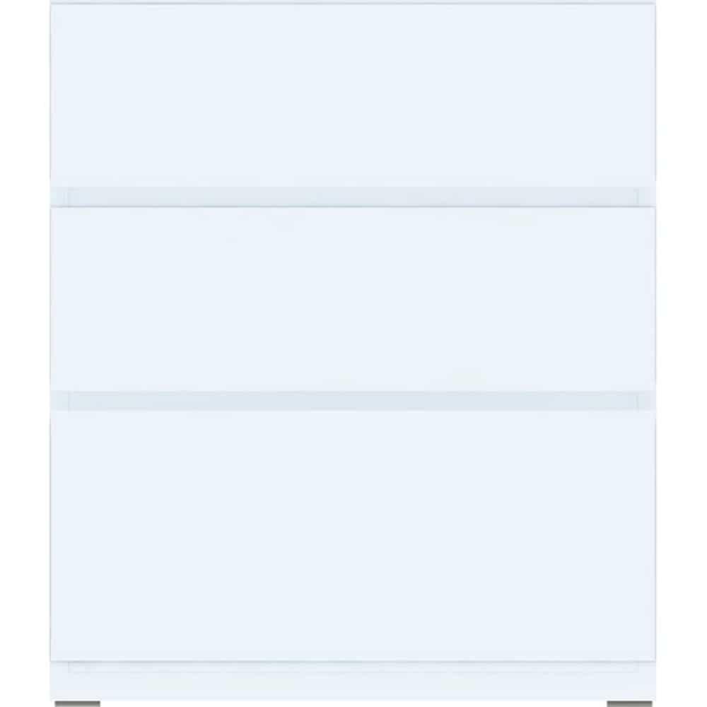 【ニトリ】 ミドルボード ポルテ 【引出しユニット】 60SB−H WH ホワイト ※天板別売※:組み合わせ自由自在!ニトリオリジナルミドルボード【ポルテ】シリーズ