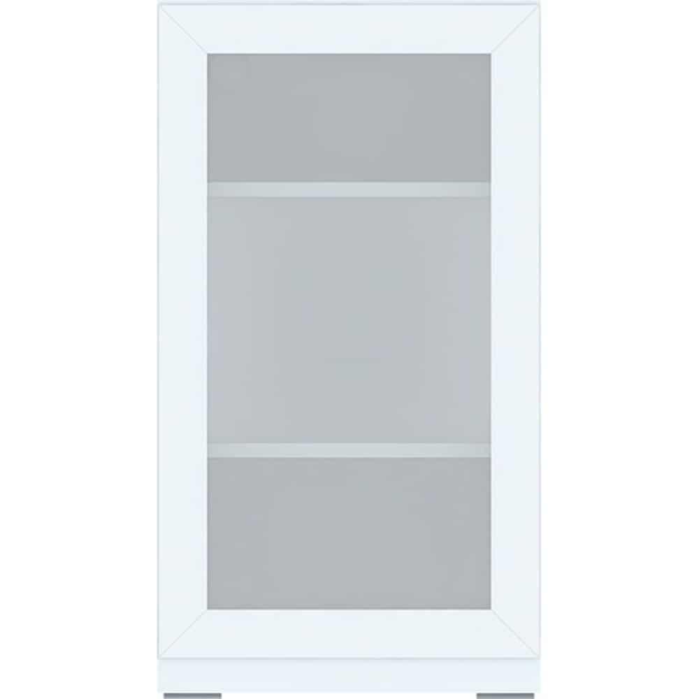 【ニトリ】 ミドルボード ポルテ 【ガラスドアユニット】 40SB−GL(左開き) WH ホワイト ※天板別売※:組み合わせ自由自在!ニトリオリジナルミドルボード【ポルテ】シリーズ