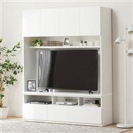 【ニトリ】 TVボード ポルテ 150TV WH ホワイト