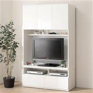 【ニトリ】 TVボード ポルテ 120TV WH ホワイト