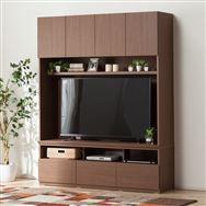 【ニトリ】 TVボード ポルテ 150TV MBR ミドルブラウン