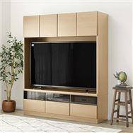 【ニトリ】 壁面ユニット TVボード Nウォーレン 150セット ナチュラル