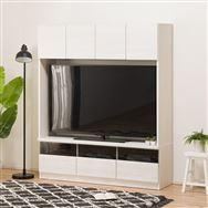 【ニトリ】 壁面ユニット TVボード Nウォーレン 150セット WHウォッシュ