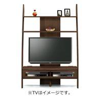 TVボード ディープ�U 115TV壁掛けパネル対応 ウォールナット(WN)