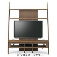 TVボード ディープ�U 135TV壁掛けパネル対応 ウォールナット(WN)