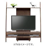 TVボード ディープ�U 150TV壁掛けパネル対応 ウォールナット(WN)