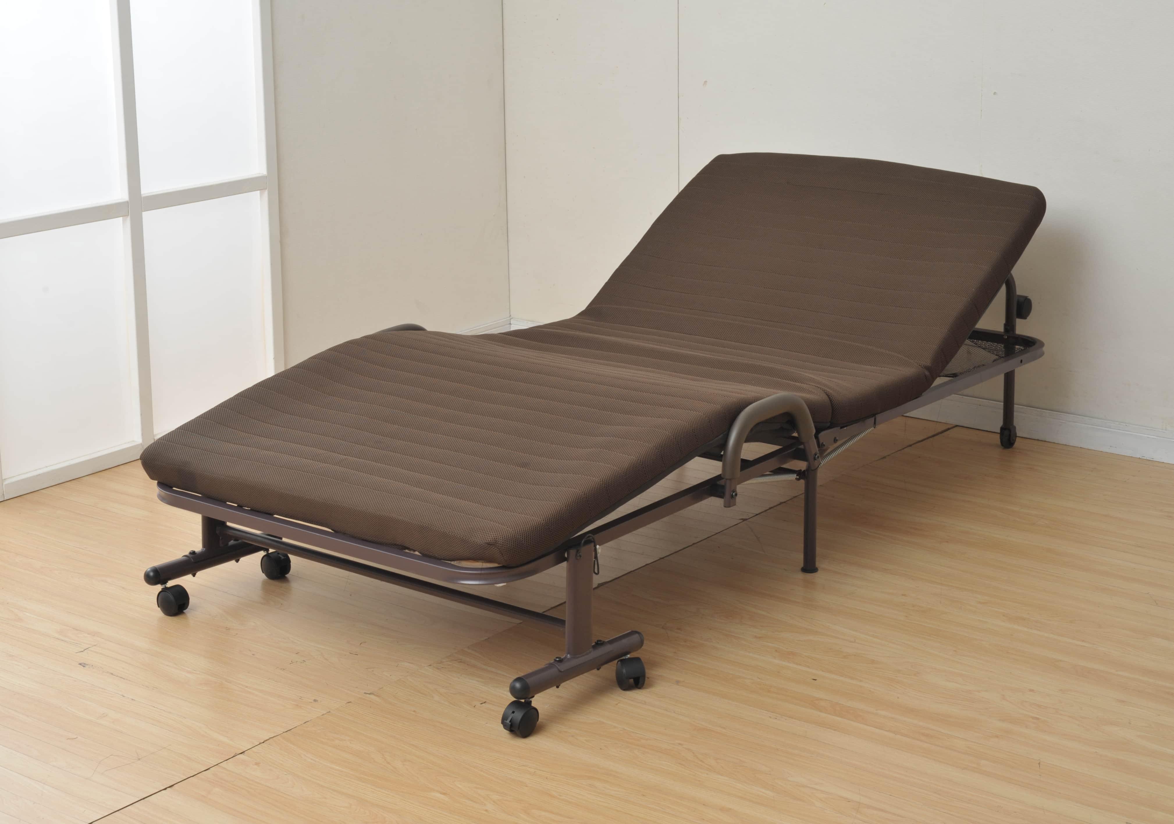 折りたたみ電動ベッド CEB−8S(DBR)