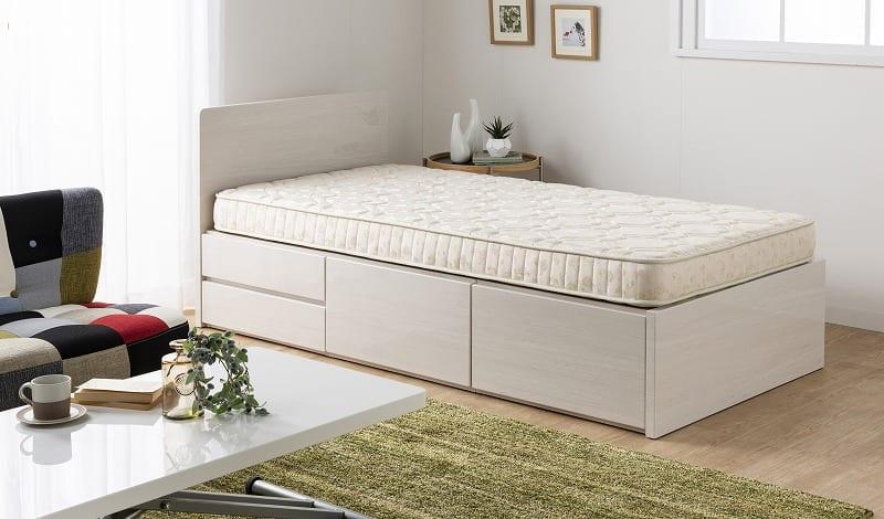 シモンズ 4インチ AB09056(シングルマットレス):二段ベッドやチェストベッドにも「シモンズの寝心地」を