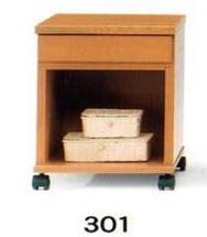 ナイトテーブル N型 301 NAナチュラル