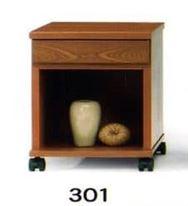 ナイトテーブル N型 301 BRブラウン