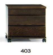 ナイトテーブル N型 403 DBRダーク