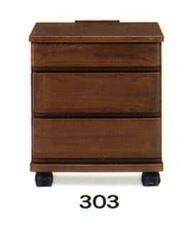ナイトテーブル E型 303 WNウォール