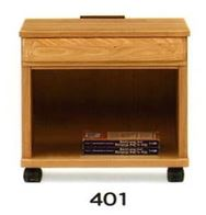 ナイトテーブル E型 401 NAナチュラル