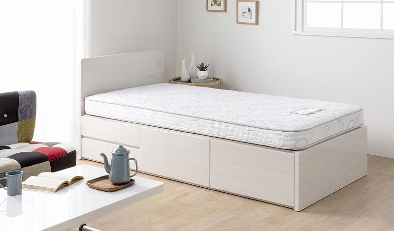 :二段ベッドやチェストベッドにも「シモンズの寝心地」を