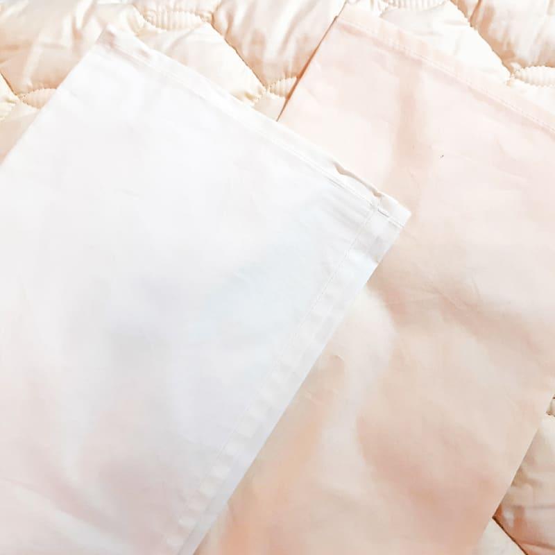 シモンズ【寝装品3点セット】キング ベーシック34.5cm厚 LA1003 ホワイト/アイボリー:※ベッドパッド1枚、ボックスシーツ2枚の3点パックです。