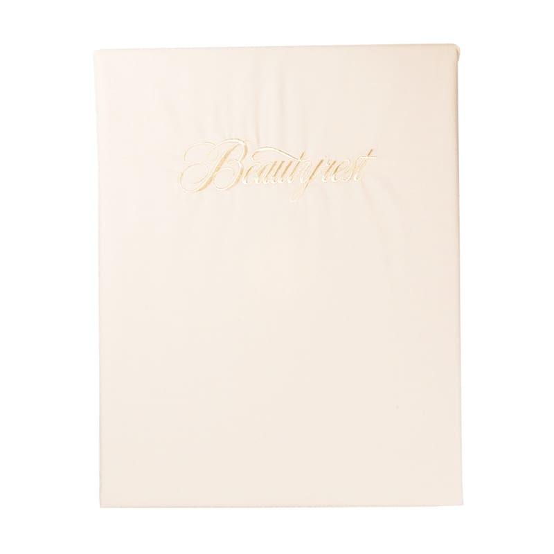 シモンズ【寝装品】シングル ベーシックBOXシーツ 35厚 アイボリー:◆吸湿性の高い天然素材・綿100%を使用したベーシックシリーズ