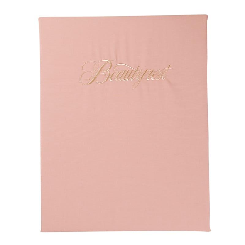 【寝装品】シングル ベーシックBOXシーツ35厚ピンク