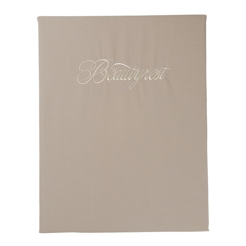 シモンズ【寝装品】シングル ベーシックBOXシーツ 35厚 ブラウン:◆吸湿性の高い天然素材・綿100%を使用したベーシックシリーズ