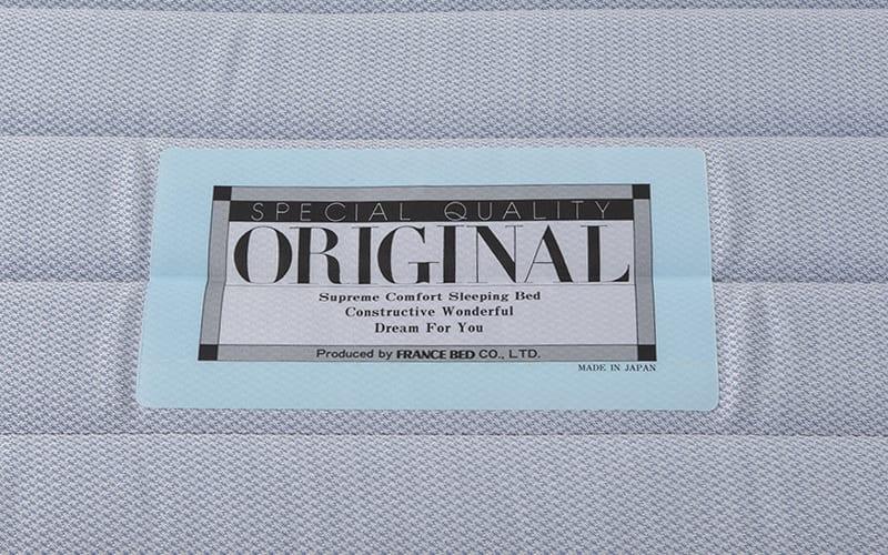 フランスベッド シングルベッド ミハシー 脚高95mm(レッド):一流ブランドの証