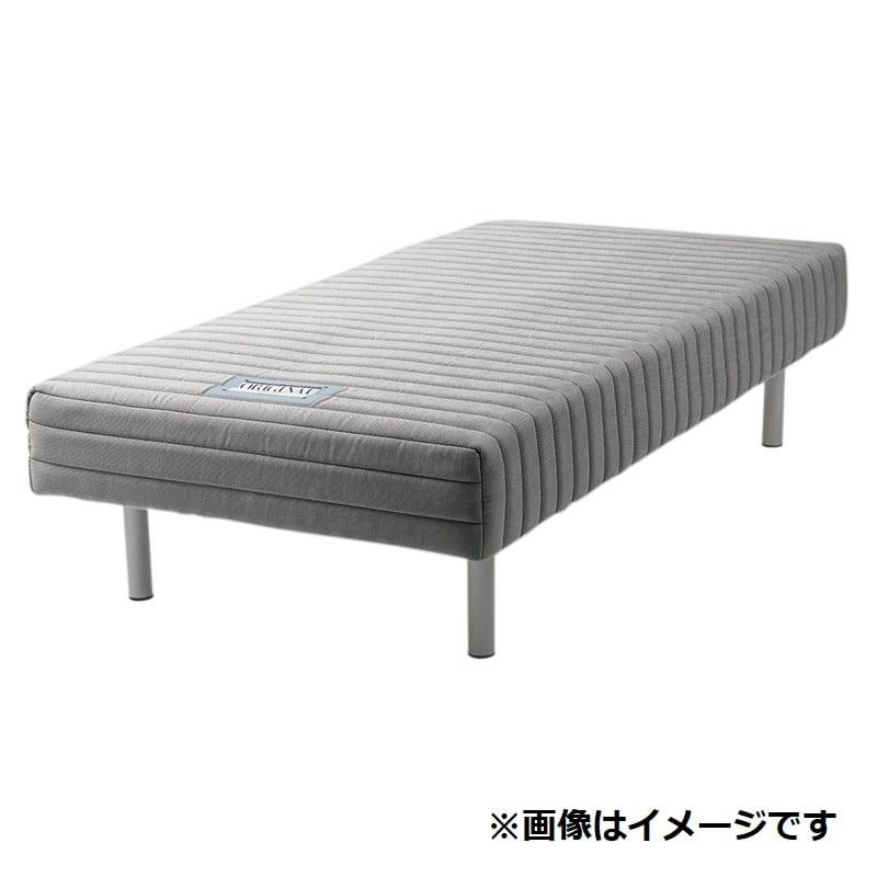 フランスベッド ダブルベッド ミハシー 脚高150mm(ブラック):脚付マットレスに最高の品質を 画像はイメージ・シングルサイズです。