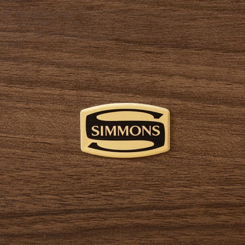 シモンズ シエラ フラット 引出付(NAシングルフレーム/マットレス別売):世界のベッド