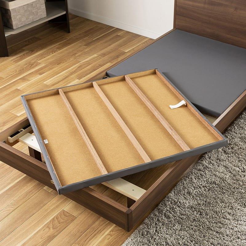 シモンズ シエラ フラット ステーション(MDシングルフレーム/マットレス別売):高い強度の床板仕様