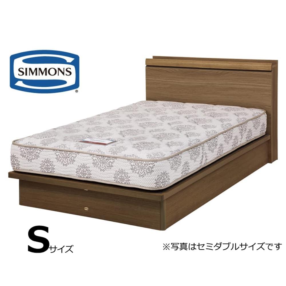 シモンズ シングルベッド シエラキャビリフト(MD/5.5インチレギュラー2):画像はセミダブルサイズです。