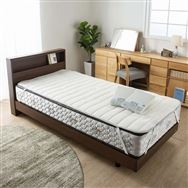 ベッドパッド 単品 ウールブレンドメッシュ セミシングル