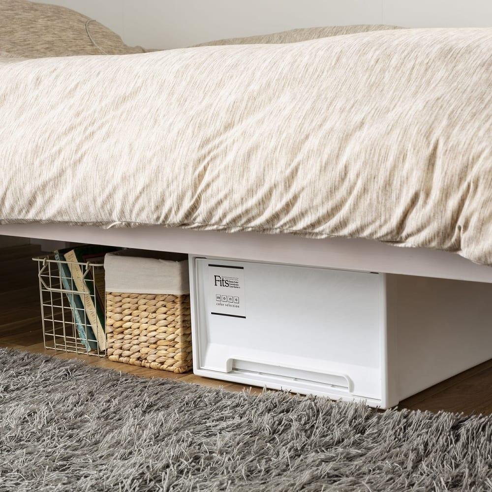:ベッド下スペースは有効活用OK