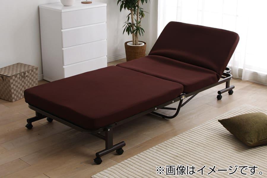 折りたたみベッド OTB−TRN BR:◆14段階リクライニング可能!