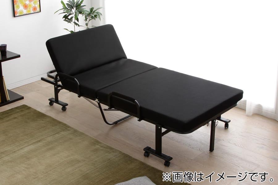 折りたたみベッド OTB−KRH BK:◆14段階リクライニング可能!