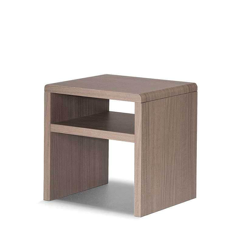 ナイトテーブル KA1270141 シエラ用 グレージュ:◆シエラシリーズと合わせやすいナイトテーブルです。