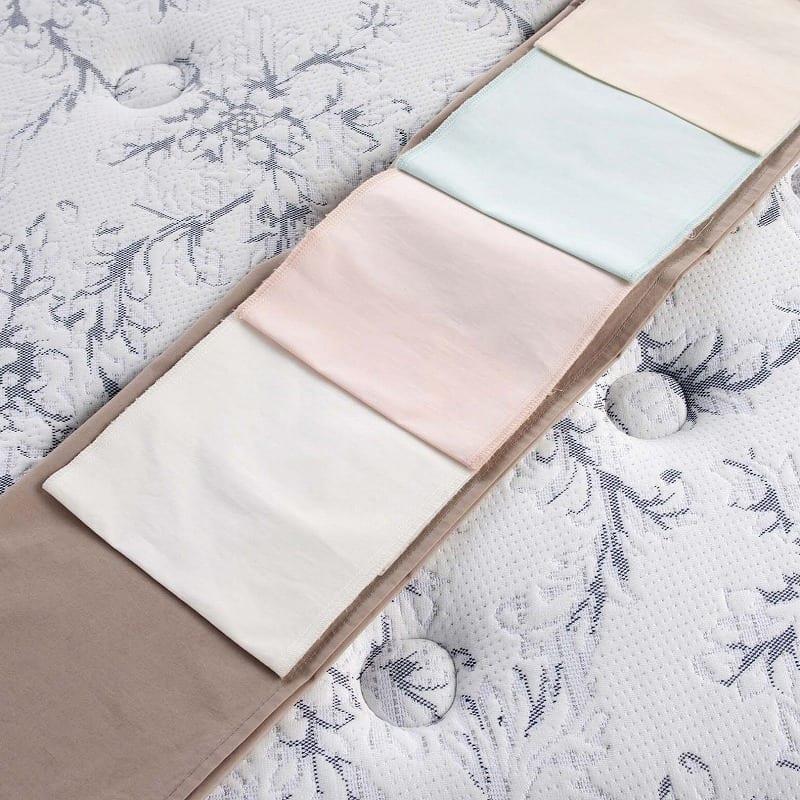 【寝装品3点セット】ラグジュアリー�U ダブル:異なる色をご用意