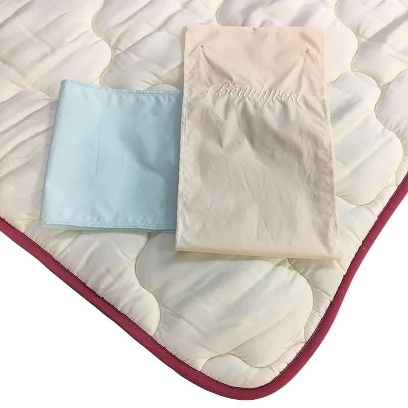 【寝装品3点セット】ラグジュアリー�U クイーン ブルー/IV:快適な眠りのために大切な寝装品