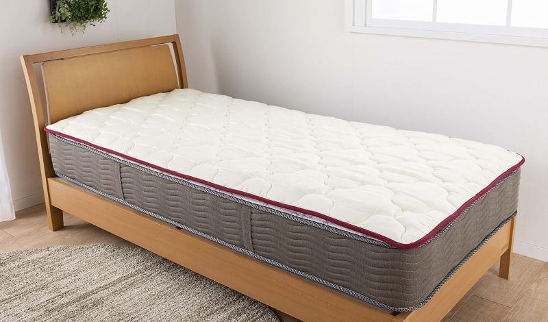 【寝装品3点セット】ラグジュアリー�U シングル 45cm厚:快適な眠りのために大切な寝装品