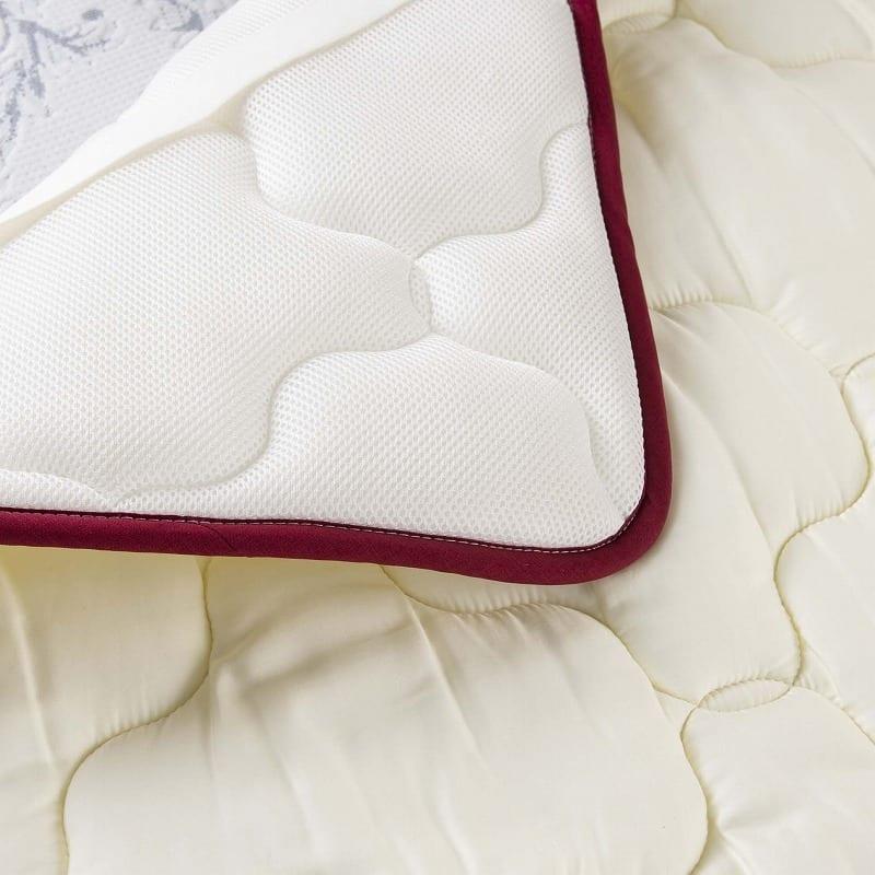 【寝装品3点セット】ラグジュアリー�U セミダブル 45�p厚:ベッドパッドの特長3